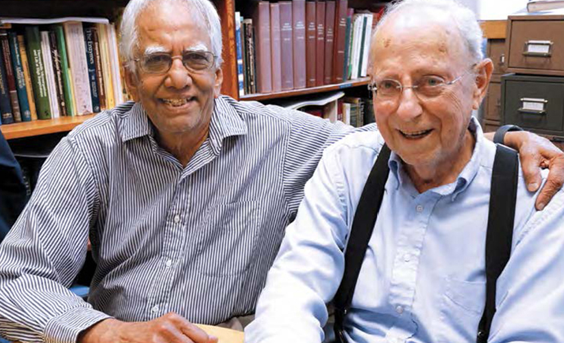 K.V. Rajagopalan and Irwin Fridovich