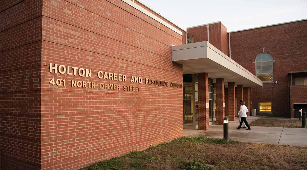 The Holton Wellness Center is located inside a career and resource center in East Durham.