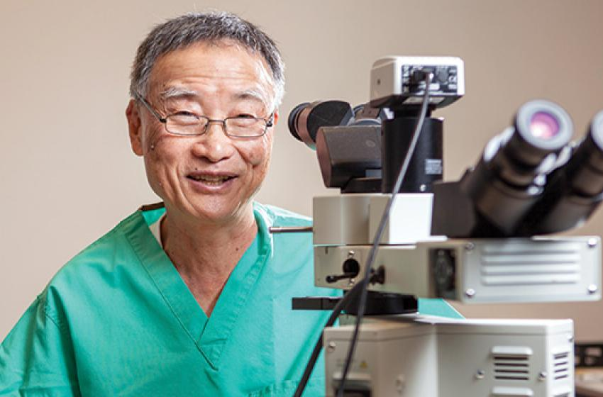 Tai-Po Tschang, MD'72, Photo by Craig Kohlruss